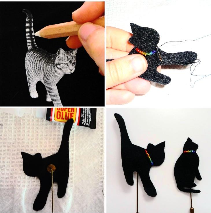 broche de gato